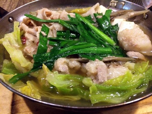 野菜出汁のスープ