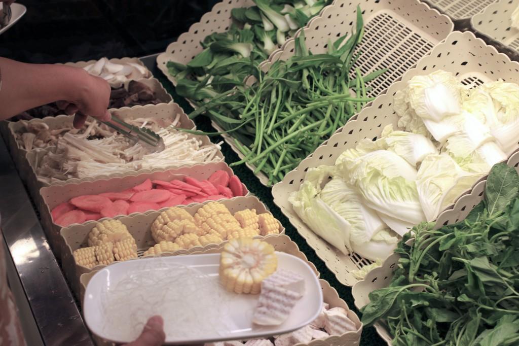 野菜好きなのでどうしてもこちらに目が行ってしまう。