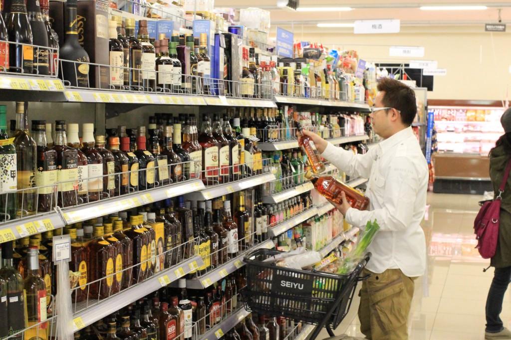 酒を選ぶときは本気モード(本人談)