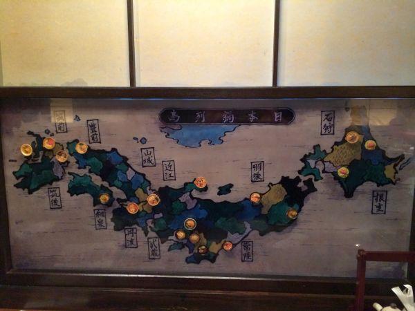 日本鍋列島地図