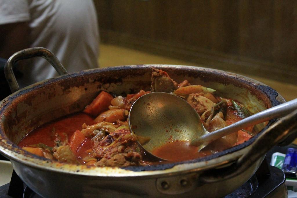 暑い夏に熱い鍋、お勧めです