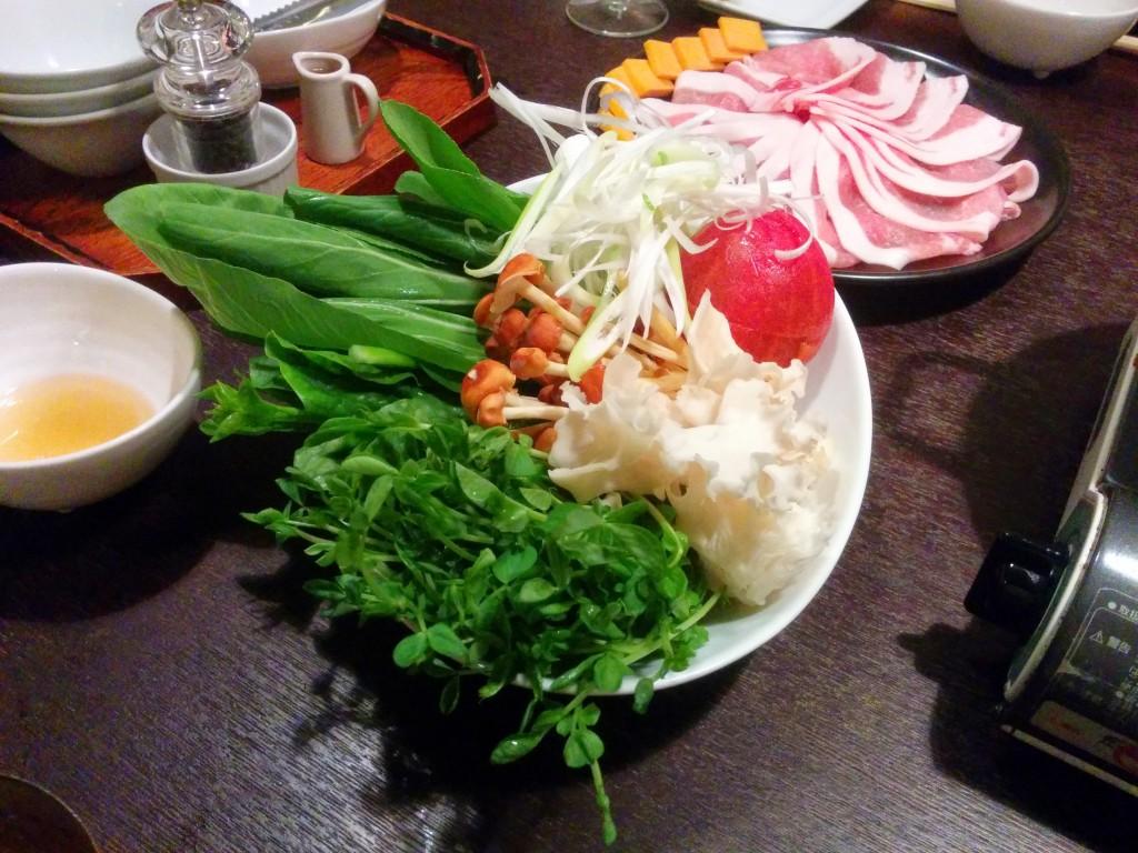 たっぷりの野菜
