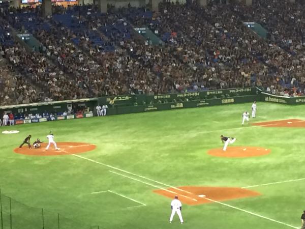 初戦はMLB岩隈―侍ジャパン金子の対戦!アツい!