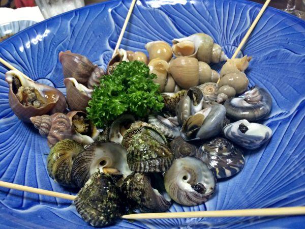 煮貝いろいろ。