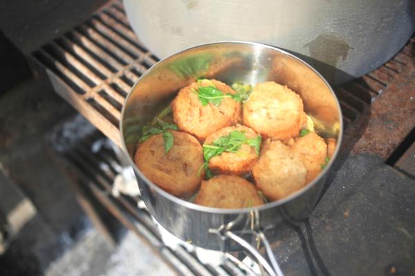 醤油と味醂で煮込み。