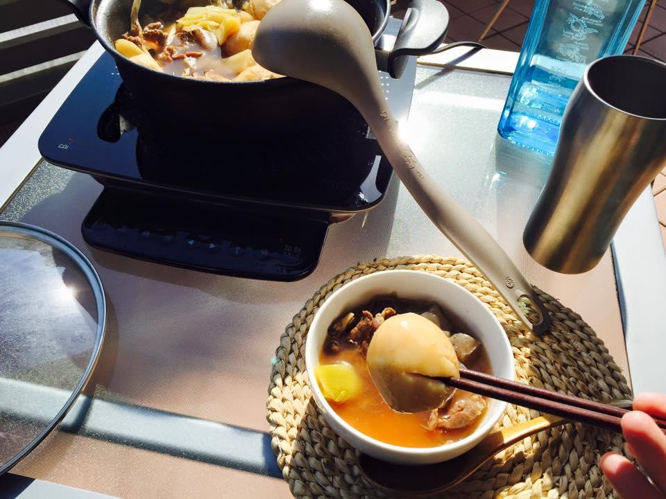 里芋はホクホク。味が染みてて美味しかった