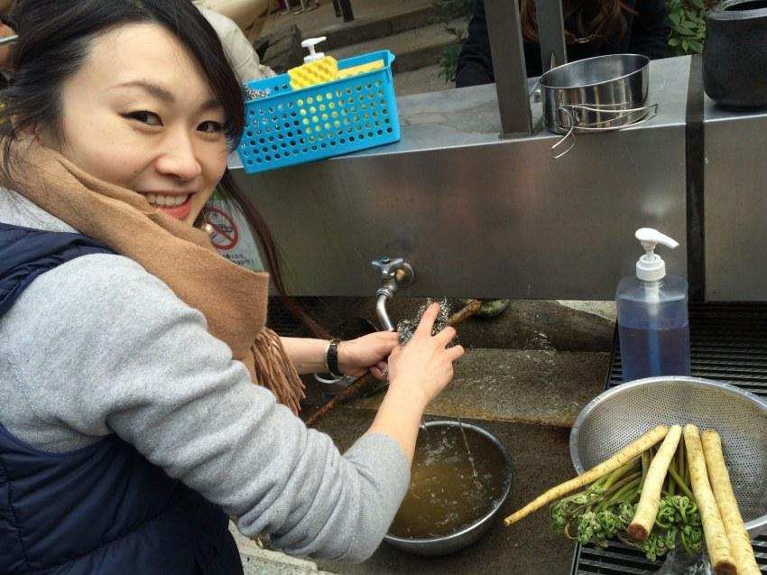 根菜洗いの達人