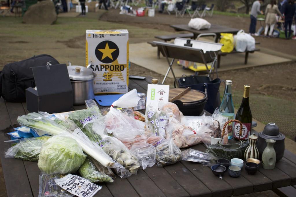 野菜・野菜・野菜。時々海産物、鍋、酒。