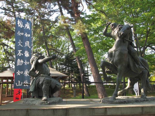 川中島古戦場跡。