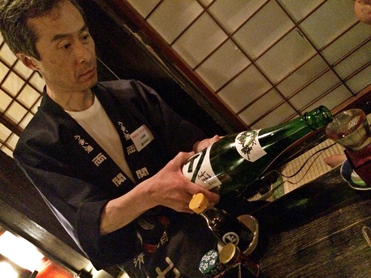 米どころ秋田は日本酒も旨い。 こちらは秋田やまとしずく純米吟醸。