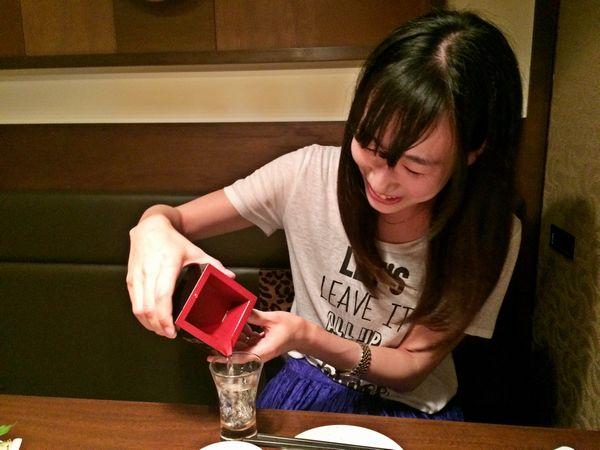 新メンバー!日本酒好きです。