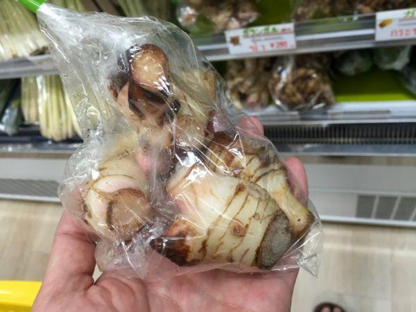 タイ生姜。香りと味が強い。