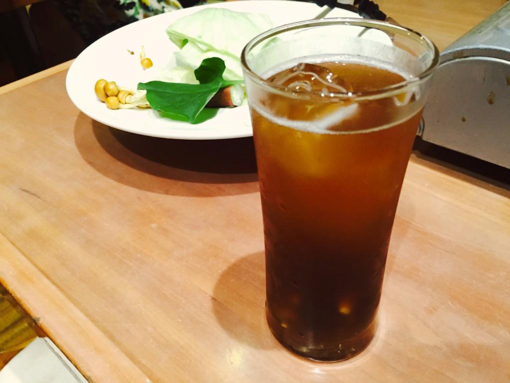 ビールのあとは生姜ハイ