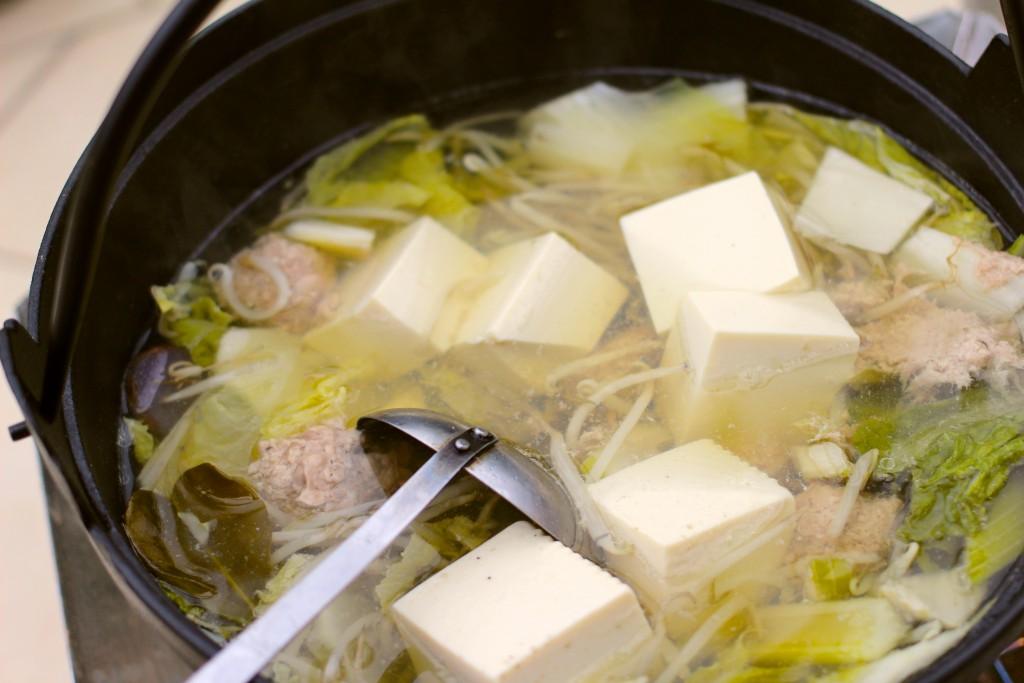 最後に豆腐、どーん。