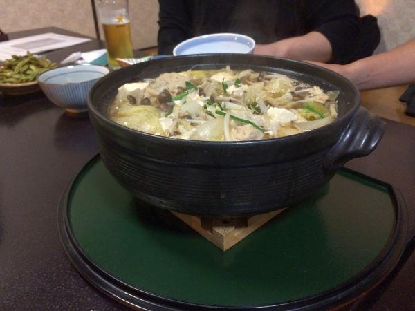土鍋で調理済み。