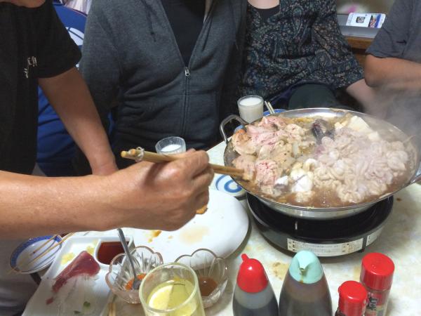 そう、もう何度もお伝えしているとおり、こちらは大将自らが鍋の具合を見てくれます。この一手間がまた味を高めます。