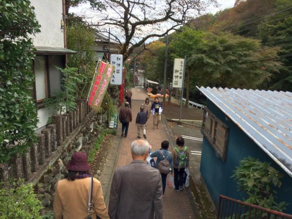 平日にもかかわらずたくさんの登山客・観光客が来ていました。