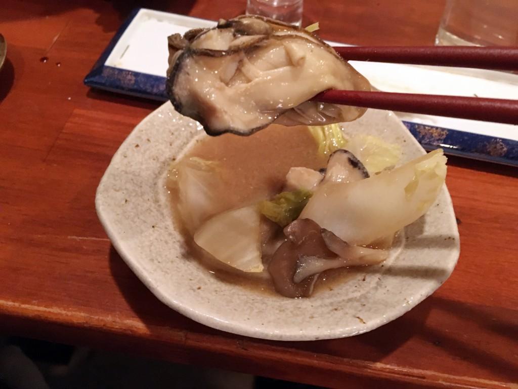 牡蠣いただきまーす!
