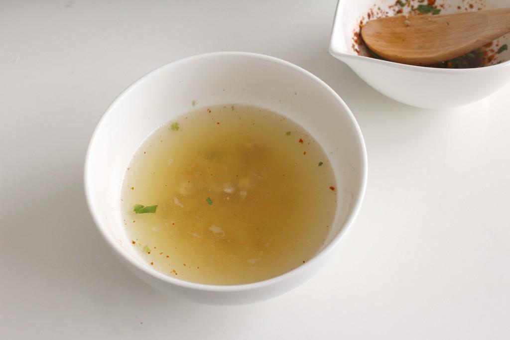 このままでも美味しいスープだけど