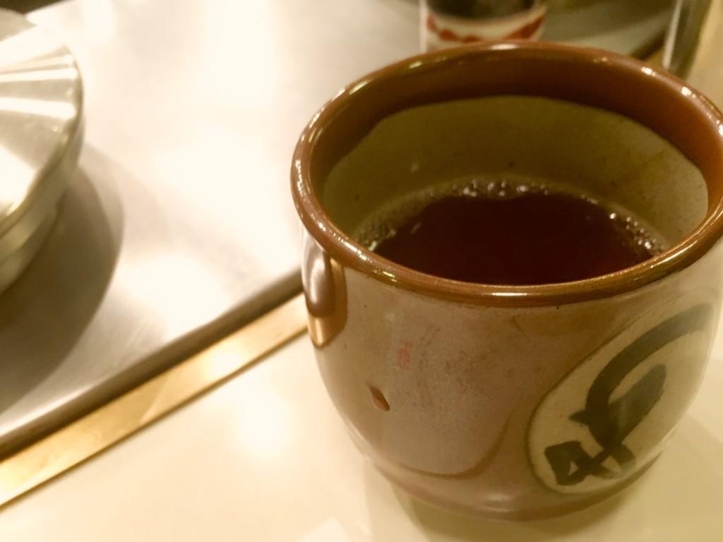 これまたいいタイミングでお茶もいただいた