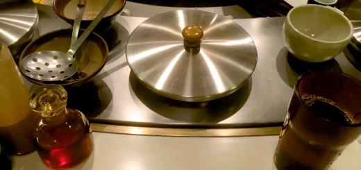 この小鍋を専有して鍋をつつく