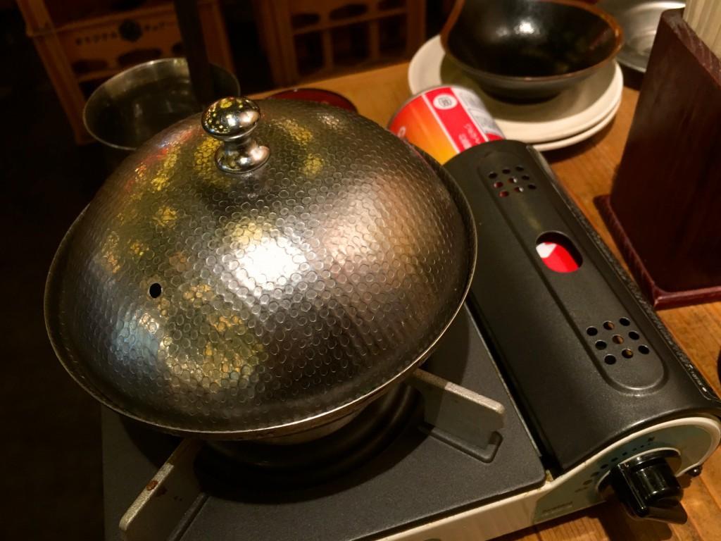 こじんまりとしたかわいらしい鍋