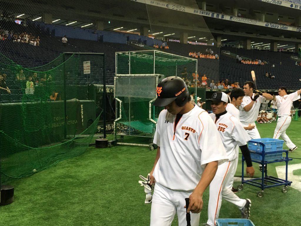 坂本選手の次に登場したのは長野選手