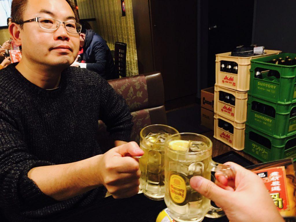 侍ジャパンの勝利を願って、乾杯!