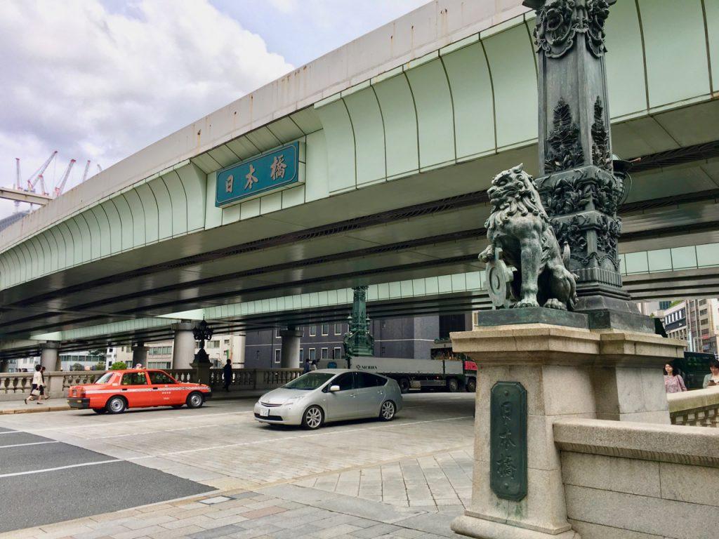 東京は日本橋。箱根駅伝のクライマックスでもおなじみですね