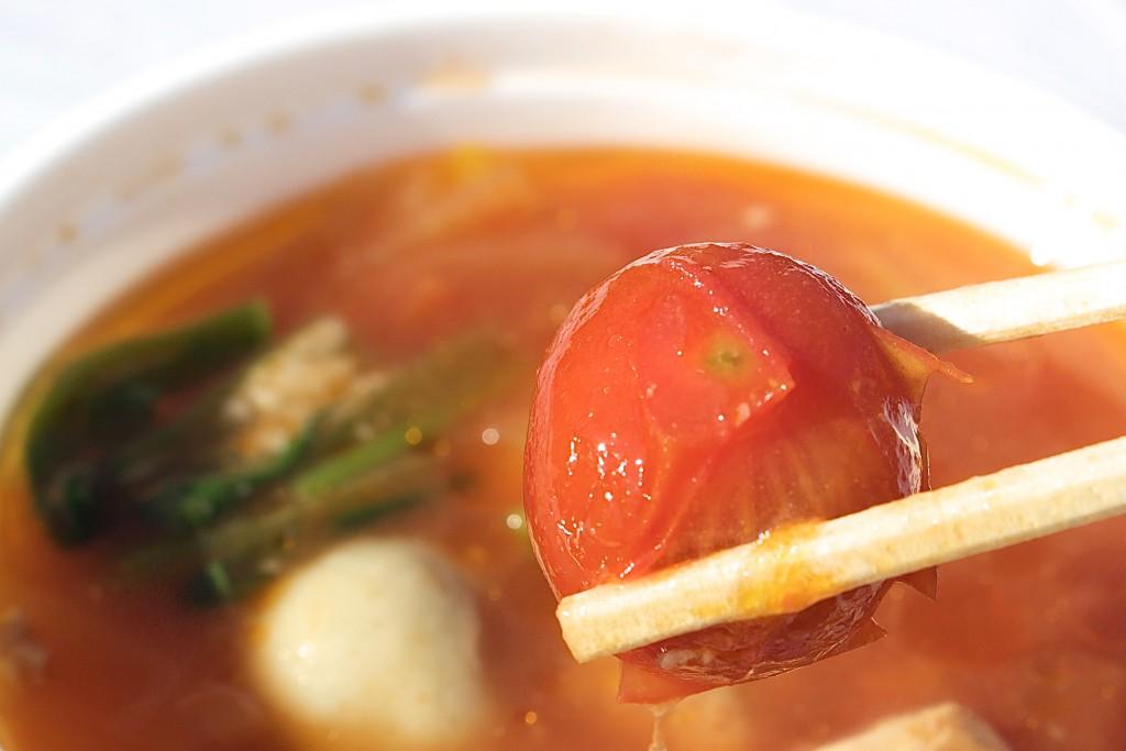 さっぱりトマト味は新鮮な感覚