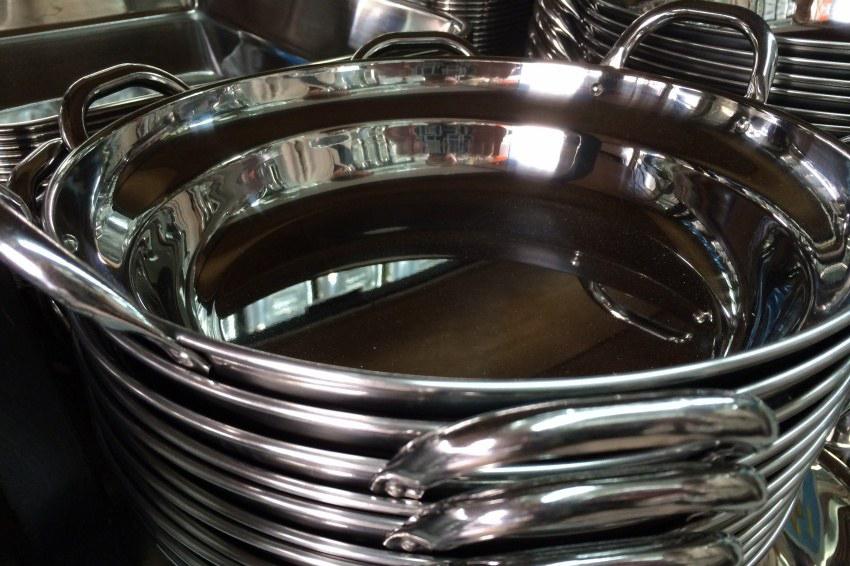 ステンレス丸鍋