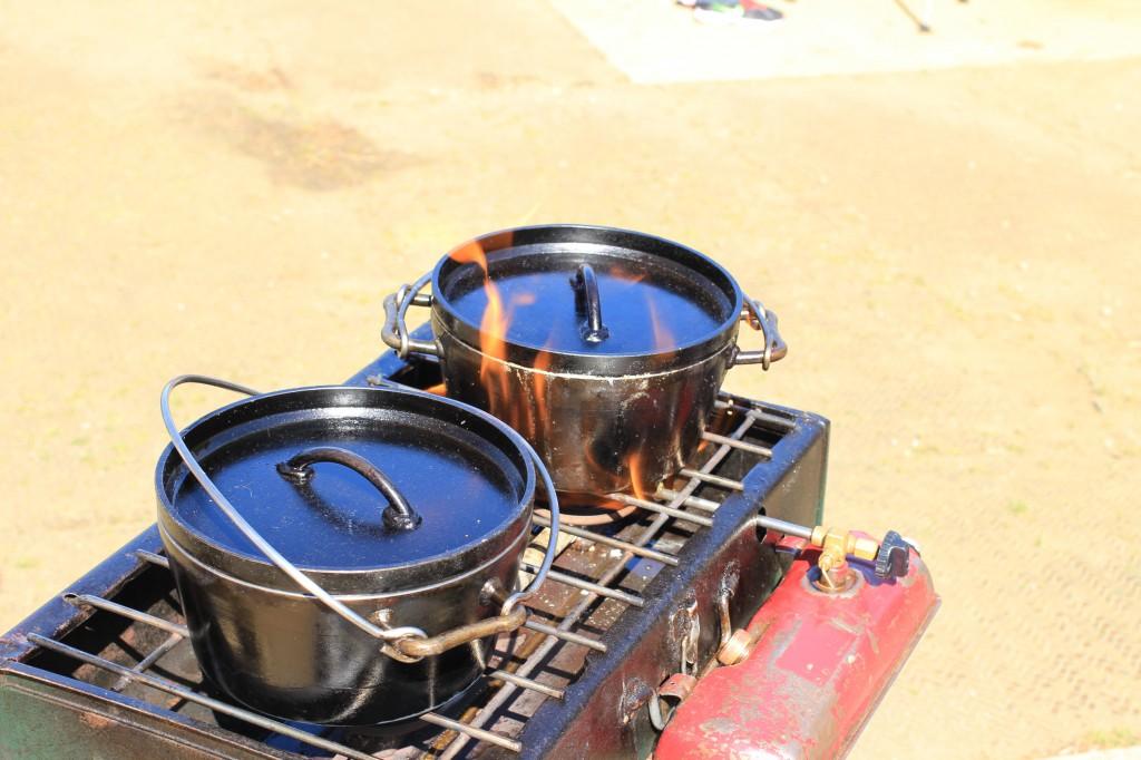 色んな味の鍋を作りました