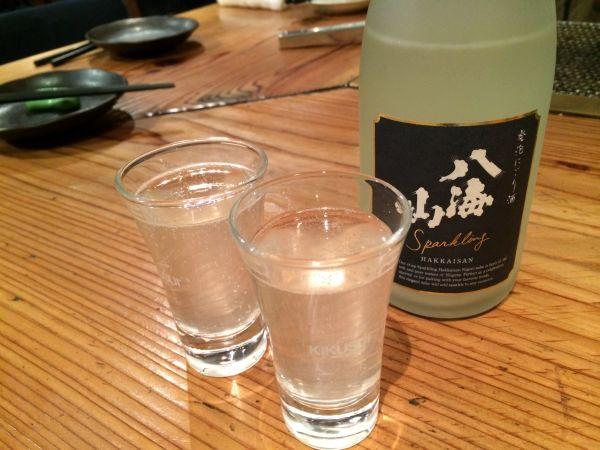 八海山純米発泡にごり酒
