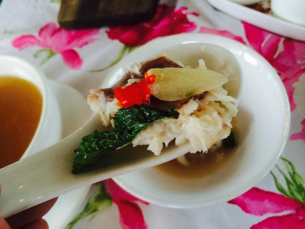 さっぱり・スッキリスープに白身魚の組み合わせが絶品