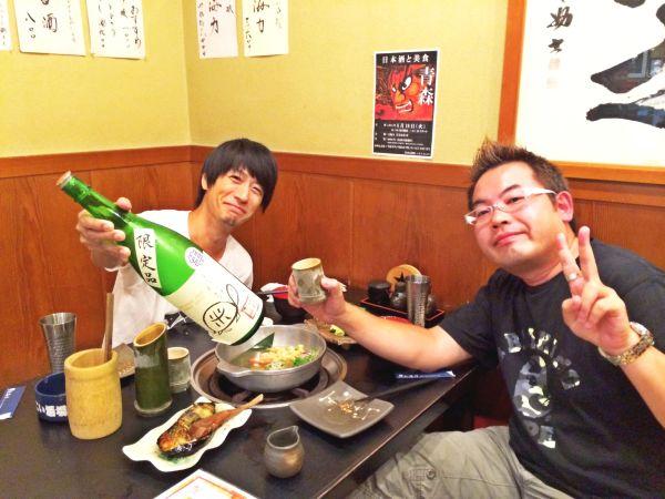 岩瀬さんと。あっという間でしたが、本当に楽しいひと時を過ごせた!ありがとうございます!