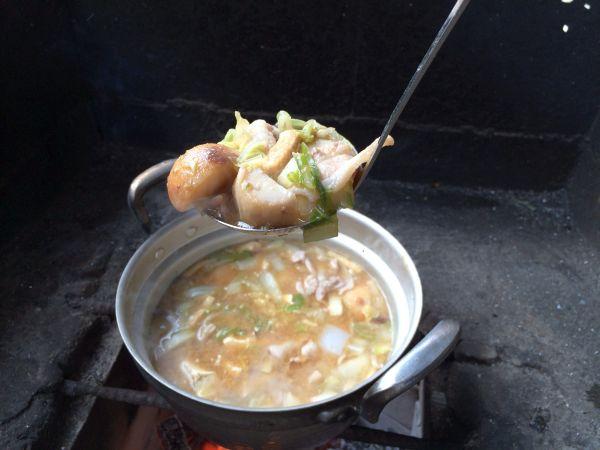 里芋に肉に野菜に。早く食べたい!