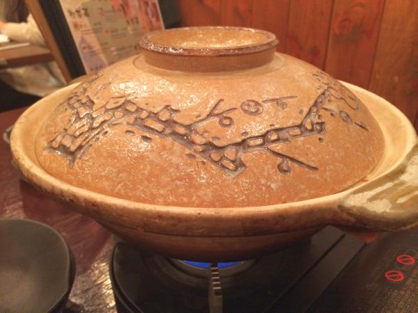 土鍋登場。