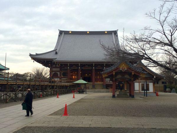 日蓮宗大本山、池上本門寺。