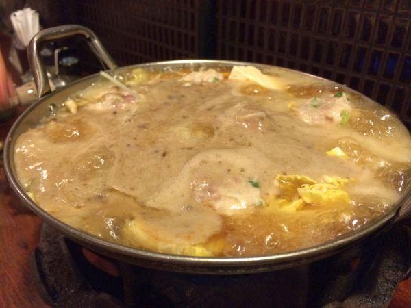自然薯が温くなったら完成。