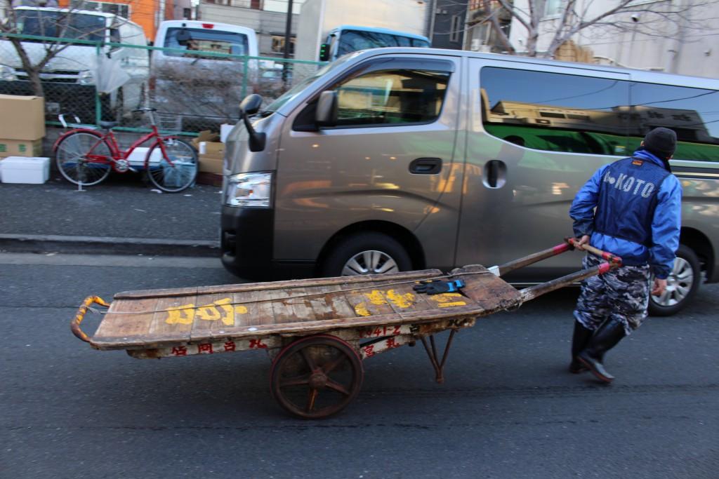台車。名前なんて言うんだろう