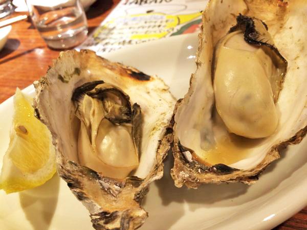 焼き牡蠣。