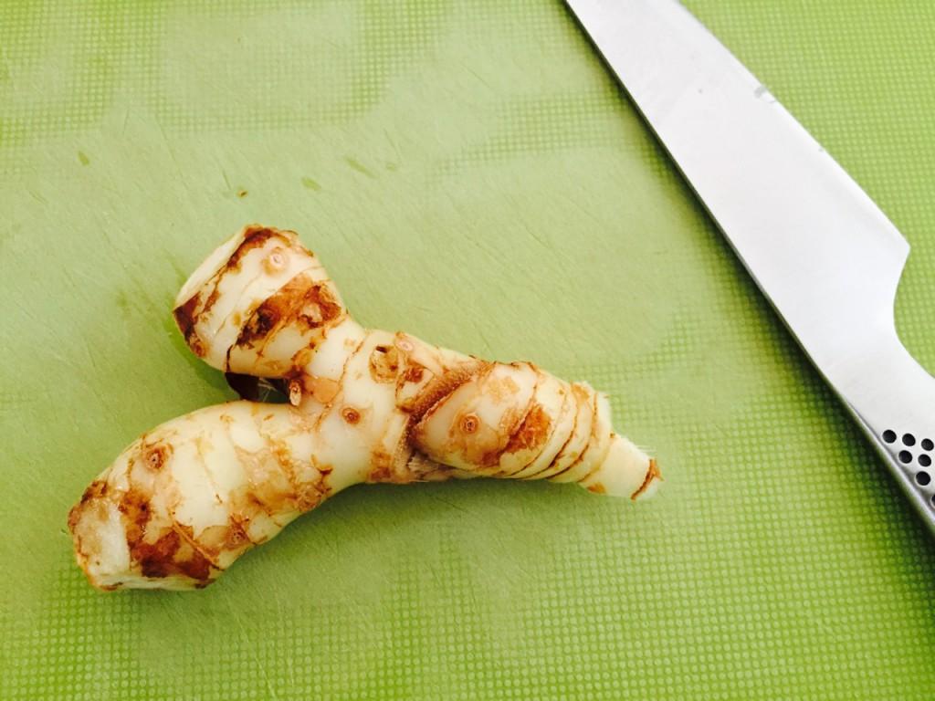 タイ生姜のカー。日本の生姜より、複雑な香り