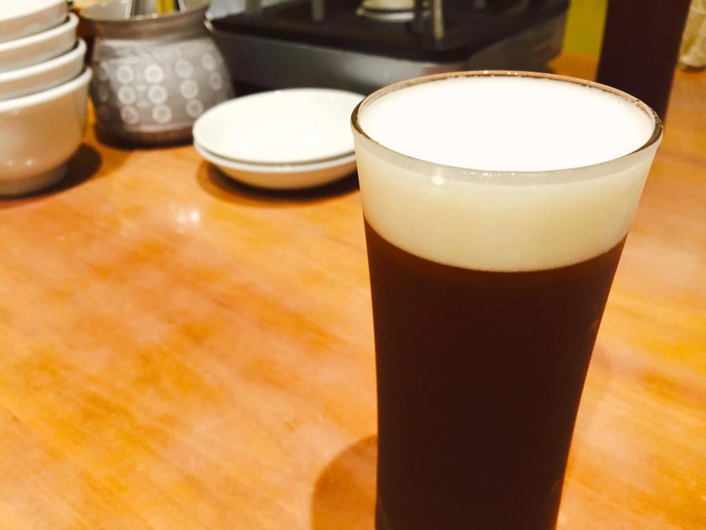 生姜ビール。身体が温まる