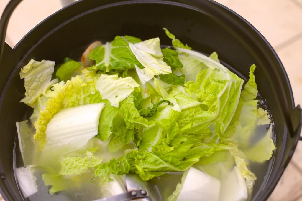 まずは白菜から