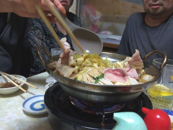 白菜と豚肉のハーモニー。
