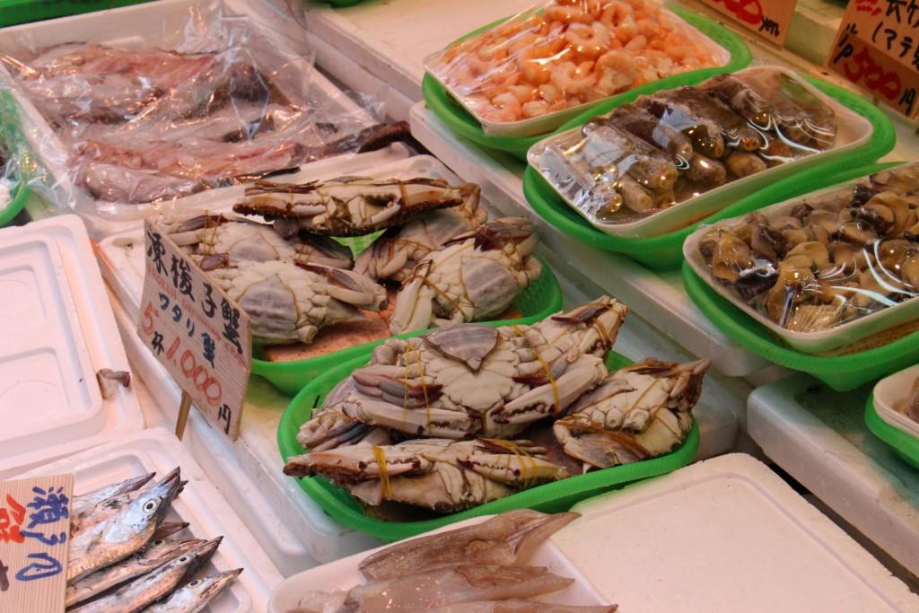 3つ目。渡り蟹購入!