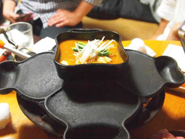 そして、出汁スープ(?)