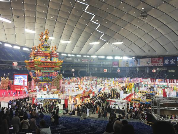 見慣れた、行き慣れた東京ドームが!笑