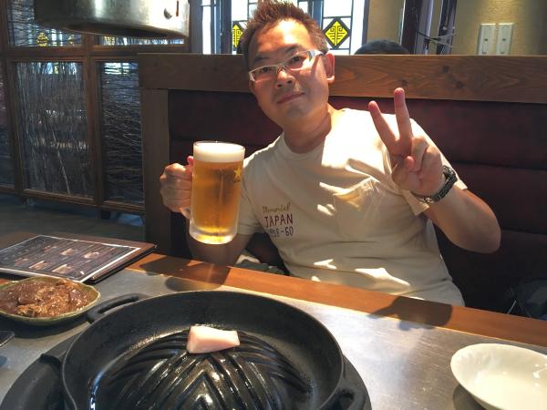 ジンギスカンといえばビール!
