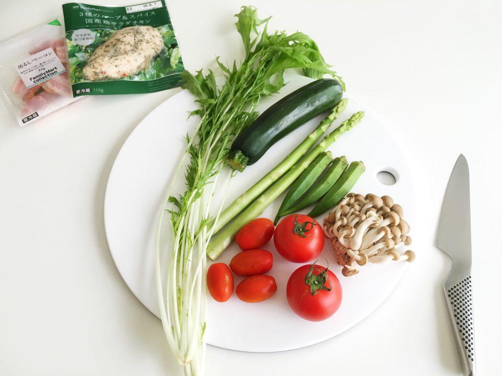 夏野菜を中心に